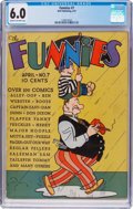 Platinum Age (1897-1937):Miscellaneous, The Funnies #7 (Dell, 1937) CGC FN 6.0 Cream to off-white pages....