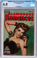Golden Age (1938-1955):Romance, Glamorous Romances #60 (Ace, 1952) CGC FN 6.0 Light tan tooff-white pages....