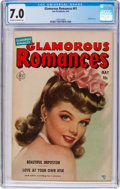 Golden Age (1938-1955):Romance, Glamorous Romances #61 (Ace, 1952) CGC FN/VF 7.0 Off-white to whitepages....