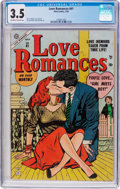 Golden Age (1938-1955):Romance, Love Romances #41 (Marvel, 1954) CGC VG- 3.5 Off-white to whitepages....