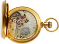 Timepieces:Pocket (pre 1900) , Important & Unique High Grade Free Sprung Lever Attributed...