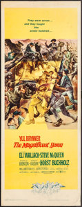 "Movie Posters:Western, The Magnificent Seven (United Artists, 1960). Insert (14"" X 36"").Western.. ..."
