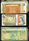 Canadian Currency: , Canada, Mexico, and More 206 Items.. ... (Total: 206 notes)