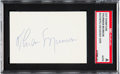 Baseball Collectibles:Others, 1970's Thurman Munson Signed Cut.. ...