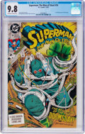 Modern Age (1980-Present):Superhero, Superman: The Man of Steel #18 (DC, 1992) CGC NM/MT 9.8 Off-white to white pages....