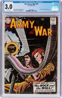 Our Army at War #83 (DC, 1959) CGC GD/VG 3.0 Off-white pages