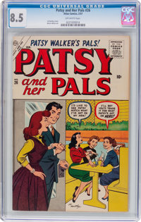 Patsy and Her Pals #26 (Atlas, 1957) CGC VF+ 8.5 Off-white pages