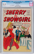 Silver Age (1956-1969):Humor, Sherry the Showgirl #1 (Atlas, 1956) CGC VG- 3.5 White pages....