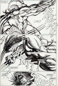 Original Comic Art:Panel Pages, Barry Windsor-Smith Marvel Comics Presents #79 Story Page 3Wolverine/Weapon X Original Art (Marvel, 1991)....