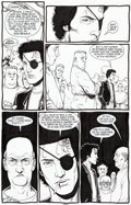 Original Comic Art:Panel Pages, Steve Dillon Preacher #46 Story Page 17 Original Art(DC/Vertigo, 1999)....