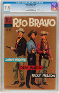 Silver Age (1956-1969):Western, Four Color #1018 Rio Bravo (Dell, 1959) CGC VF- 7.5 Off-white to white pages....