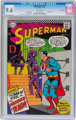 Superman #191 Twin Cities pedigree (DC, 1966) CGC NM+ 9.6 White pages