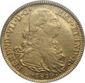 Colombia, Colombia: Ferdinand VII gold 8 Escudos 1819 NR-JF AU53 PCGS,...