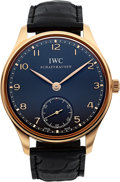 Timepieces:Wristwatch, IWC Ref. IW545406 Rose Gold Portuguese. ...