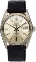 Timepieces:Wristwatch, Rolex Ref. 16000 Steel Oyster Perpetual Datejust, circa 1978. ...