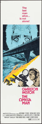 """The Omega Man (Warner Brothers, 1971). Door Panels (3) Identical (20"""" X 60""""). Science Fiction. ... (Total: 3 I..."""