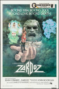 "Movie Posters:Science Fiction, Zardoz (20th Century Fox, 1974). One Sheet (27"" X 41""). ScienceFiction.. ..."