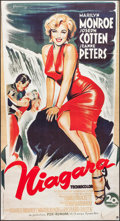 "Movie Posters:Film Noir, Niagara (20th Century Fox, R-2000s). French Grande (33.5"" X 62"").Film Noir.. ..."