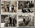 "Movie Posters:Comedy, Monkey Business (Paramount, 1931/ R-1949). Photos (4) (8"" X 10"").Comedy.. ... (Total: 4 Items)"