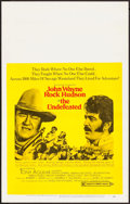 "Movie Posters:Western, The Undefeated (20th Century Fox, 1969). Window Card (14"" X 22"").Western.. ..."