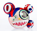 Fine Art - Work on Paper:Print, Takashi Murakami (b. 1962). Mr. Dob (Red) (OriginalEdition), 2016. Painted cast vinyl. 9-1/4 x 10-3/4 inches (23.5 x27...