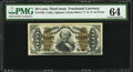 Fractional Currency:Third Issue, Fr. 1340 50¢ Third Issue Spinner Type II PMG Choice Uncirculated64.. ...