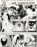 "Original Comic Art:Panel Pages, Wally Wood Wizard King Trilogy Vol #2 ""Odkin, Son of Odkin""Page 30 Original Art (Wallace Wood, 1981). ..."