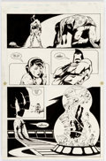 Original Comic Art:Panel Pages, Steve Rude and John Nyberg Nexus #35 Story Page 19 KreedOriginal Art (First, 1987)....