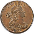 Large Cents, 1803 1C Small Date, Small Fraction, S-256, B-15, R.3, AU58 PCGS. CAC....