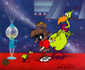 """Animation Art:Limited Edition Cel, """"Instant Martian"""" Marvin the Martian Limited Edition Cel #298/750 (Warner Brothers, 1995)...."""