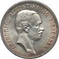 German States:Saxony, German States: Saxony. Friedrich August III 5 Mark 1914-E MS65 PCGS,...