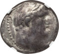 Ancients:Greek, Ancients: PHOENICIA. Tyre. 126/5 BC-AD 67/8. AR shekel (13.07). NGCChoice Fine 4/5 - 3/5....