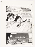 Original Comic Art:Panel Pages, Neal Adams and Dick Giordano Batman: Stacked Cards [Book andRecord Set] #PR27 Story Page 9 Original Art (Power Re...