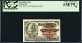 "Miscellaneous:Other, World's Columbian Exposition Columbus ""A"" Ticket 1893 PCGS ChoiceAbout New 55PPQ.. ..."
