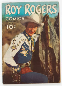 Four Color #38 Roy Rogers Comics (Dell, 1944) Condition: VG-