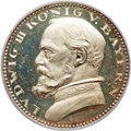 German States:Bavaria, German States: Bavaria. Ludwig III silver Proof Pattern 5 MARK 1913PR64 Cameo PCGS,...