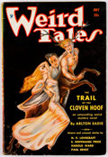 Pulps:Horror, Weird Tales - July 1934 (Popular Fiction) Condition: VG....