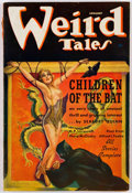 Pulps:Horror, Weird Tales - January 1937 (Popular Fiction) Condition: VG....