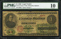 Large Size:Legal Tender Notes, Fr. 17a $1 1862 Legal Tender PMG Very Good 10.. ...