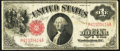 Large Size:Legal Tender Notes, R-A Block Fr. 39 $1 1917 Legal Tender Fine-Very Fine.