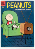 Silver Age (1956-1969):Cartoon Character, Four Color #878 Peanuts (Dell, 1958) Condition: VF....