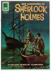 Four Color #1245 Sherlock Holmes (Dell, 1962) Condition: NM-
