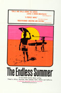 "Movie Posters:Sports, The Endless Summer (Cinema 5, 1966). Silk Screen Day-Glo One Sheet (27"" X 41"") John Van Hamersveld Artwork.. ..."