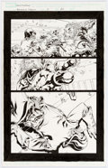 Original Comic Art:Panel Pages, Tom Raney and Scott Hanna Annihilation Conquest #3 StoryPage 20 Original Art (Marvel Comics, 2008)....