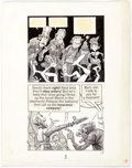 Original Comic Art:Panel Pages, Jack Davis Circus Parody Story Page 5 (c. 1970s)....