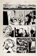 Original Comic Art:Panel Pages, Frank Springer (attributed) Daredevil Unpublished StoryPages 7-8 Original Art (Marvel, c. 1980s).... (Total: 2 OriginalArt)