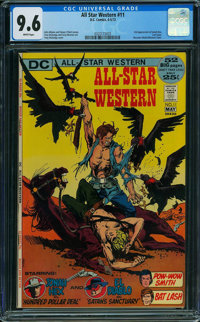 All-Star Western #11 (DC, 1972) CGC NM+ 9.6 WHITE pages