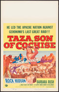 "Movie Posters:Western, Taza, Son of Cochise & Others Lot (Universal International, 1954). Window Cards (3) (14"" X 22""). Western.. ... (Total: 3 Items)"