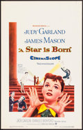 "Movie Posters:Musical, A Star is Born (Warner Brothers, 1954). Window Card (14"" X 22"").Musical.. ..."