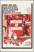"Movie Posters:War, Weekend at Dunkirk & Other Lot (20th Century Fox, 1966). OneSheets (2) (27"" X 41""). War.. ... (Total: 2 Items)"